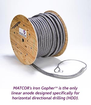 MATCOR Iron Gopher® HDD Cathodic Protection